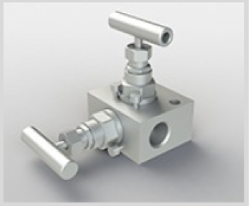 "Приборный клапанный блок DN 1/2"" класс 2500 (50,0Мпа) Манифольд ZPA SS-V2BF8"