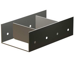 Опоры стальные подвижные (ОПП3)