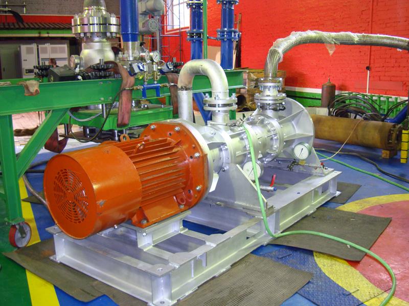 Герметичный электронасосный агрегат с магнитной муфтой типа НЦСГ