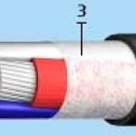 Кабель силовой алюминиевый для стационарной прокладки