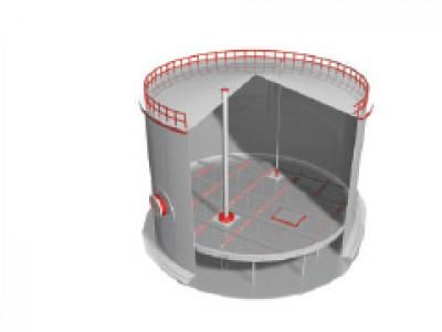 Понтон поплавковый с герметичным настилом и мягким затвором
