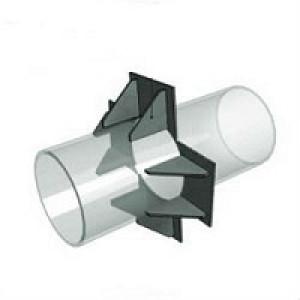 Опоры неподвижные лобовые четырехупорные усиленные типа Т5